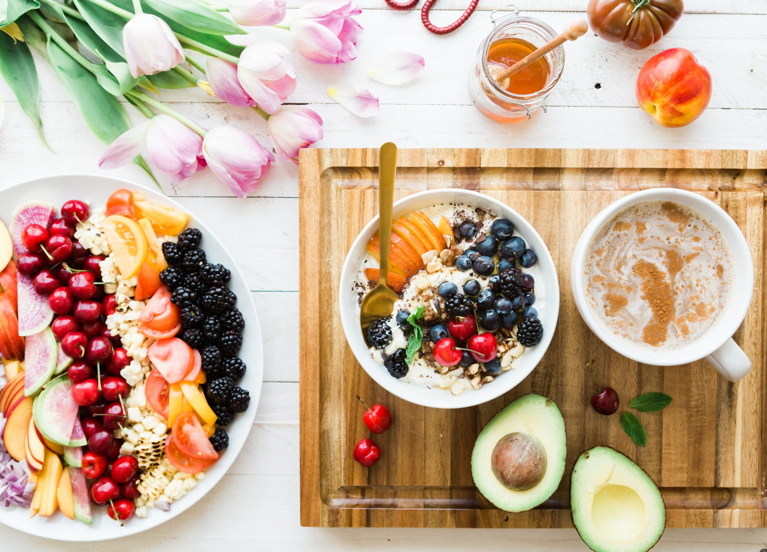 Gezond ontbijt Sportmedisch Centrum Lebbeke fruit granen haver griekse yoghurt