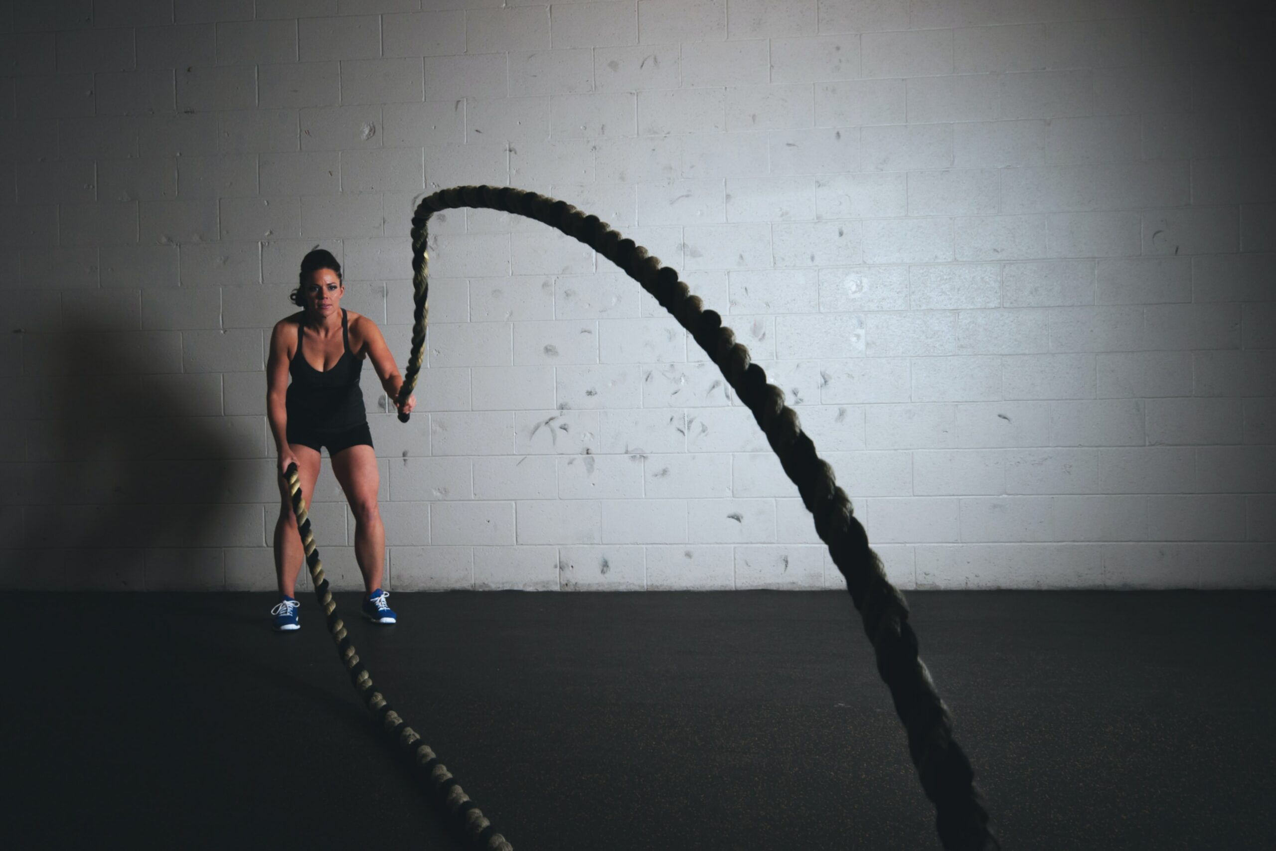Personal training Sportmedisch Centrum Lebbeke rope touw